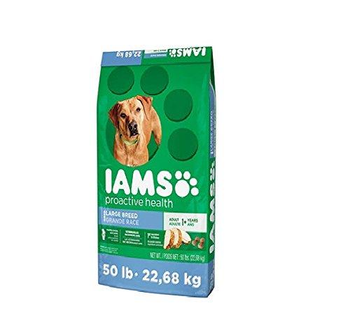 h Dog Food, Large Breed (50 lbs.) (Iams Large Breed)