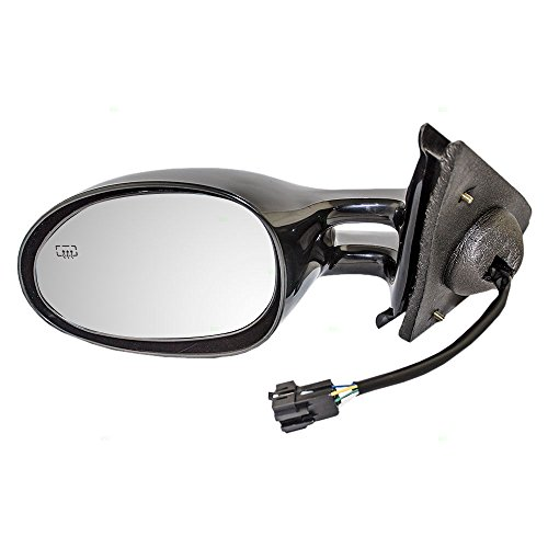 Drivers Power Side View Mirror Heated Replacement for Dodge Chrysler Plymouth 4646309 -