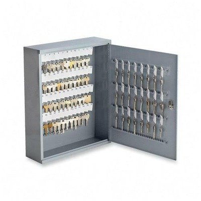 Sparco Secure Key Cabinet, Locking, 240Keys, 16-1/2 x 4-7/8 x 20-1/8 Inches, Gray (SPR15606)