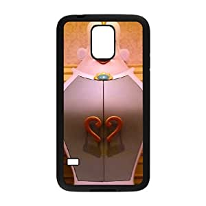 Samsung Galaxy S5 Cell Phone Case Black Beauty and the Beast Character Armoire vff
