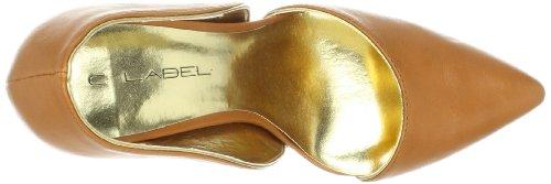 C Etichetta Womens Luxe 4 Pump Tan