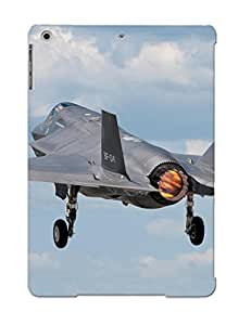 Cjecfh-1532-zlpovmo With Unique Design Ipad Air Durable Tpu Case Cover F35 Military Fighter Jet Airplane Plane Lightning Bomber Joint (18)
