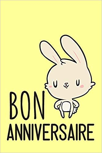 Carnet De Notes Bon Anniversaire Petit Journal Intime