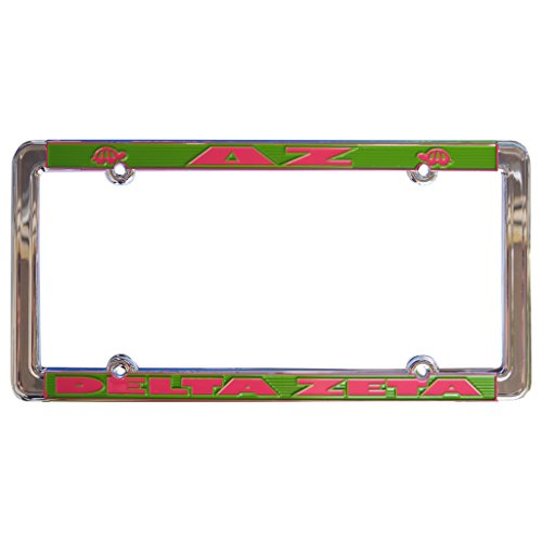 Alexandra And Company License Plate Frame, Delta Zeta