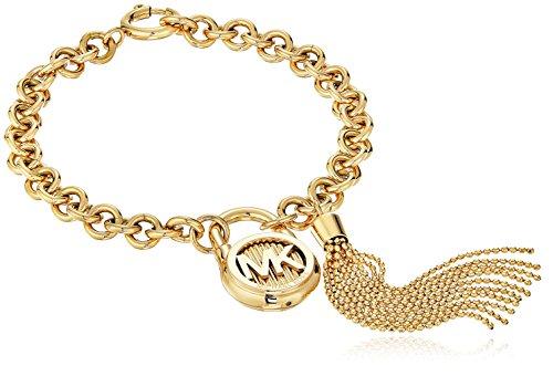 Michael Kors Hamilton Gold-Tone Link Bracelet