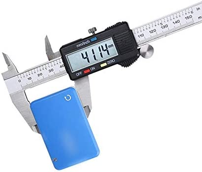 ZGQA-GQA Electronic Digital Display Caliper 0-150mm Digital Caliper Stainless Steel Measuring Tool (Size : 0-150mm)