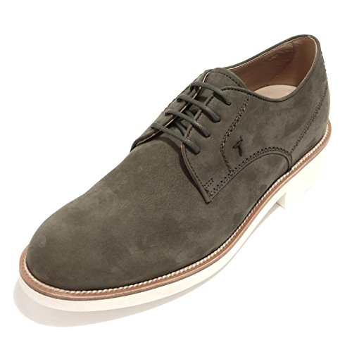 89944 scarpa TODS DERBY FONDO GREEN calzatura uomo shoes men Verde