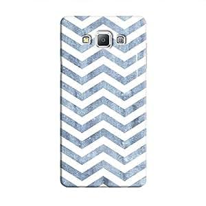 Cover It Up - Denim Bubblegum Print Galaxy A8 Hard Case