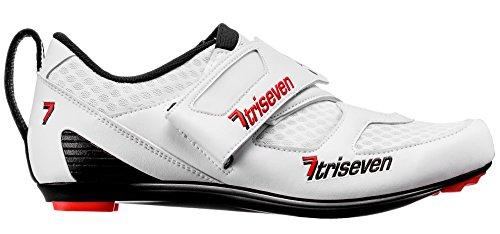 7TRISEVEN Premium TRIATHLON Shoes, Blanco, 44