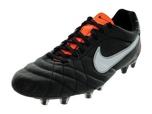Nike - Bota tiempo flight fg n/b, talla 40, color negro