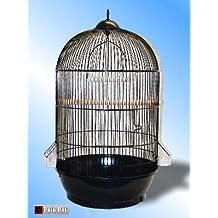 Posh Pets Luxury Osaka Black Coloured Round Bird Cage 70Cm Tall