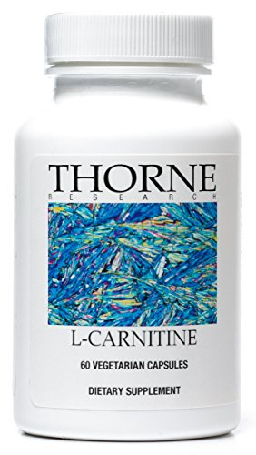 Thorne Research L Carnitine Amino Acid Supplement to Support Fat Metabolism and Energy Production 60 Capsules