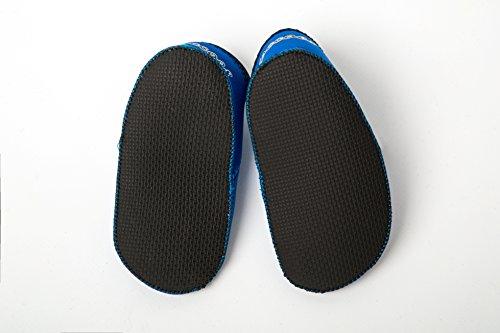 Yoccoes Hausschuhe von Strand Baby Shore Feet Blau L (18 - 24 Monate)