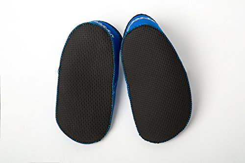 Yoocoes Designs Shore Füße padder Schuhe Blau 0 - 6 M