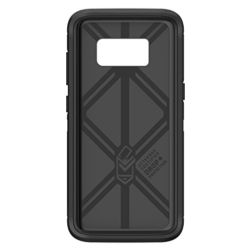 OtterBox 77-54520 DEFENDER SERIES for Samsung Galaxy S8 (SCREEN PROTECTOR NOT INCLUDED) - Frustration Free Packaging - BLACK by OtterBox (Image #3)