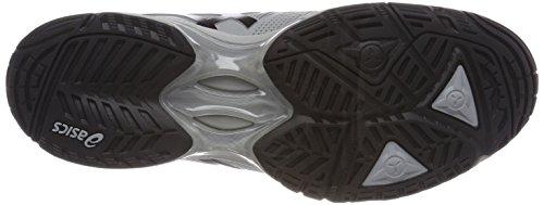 Asics Gel-Solution Speed 3, Scarpe da Tennis Uomo Grigio (Mid Grey Black 9690)