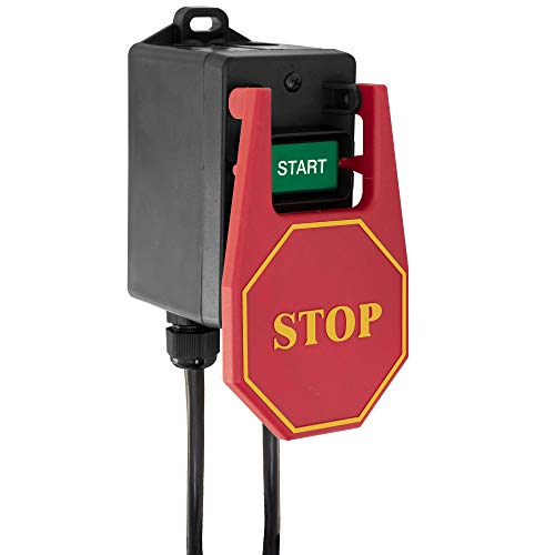 Single Phase 110V Power Tool Switch 15 amp Power Tools Ideal for Router Tables and Small ()