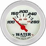 """Equus 8162 1.5"""" Electric Water Temperature Gauge Kit"""
