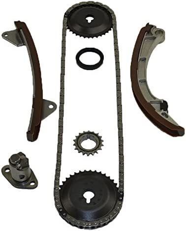 Without VVT Gear ITM Engine Components 053-94350 Timing Chain Set for 2000-2008 Toyota 1.8L L4 1ZZFE