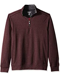 Men's Flex Long Sleeve 1/4 Zip Soft Sweater Fleece