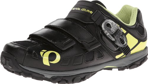Pearl Izumi - Ride Women's W X-ALP Enduro IV Cycling Shoe,Black/Paloma,41 EU/9.2 D US