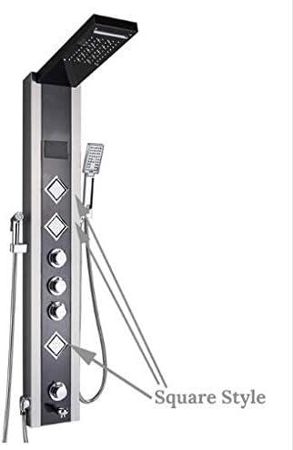 Shower System Panel de Ducha Luz de LED Baño Baño Ducha Columna ...