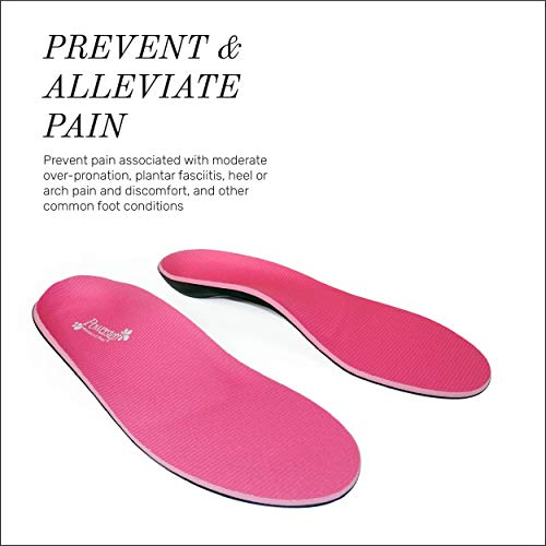 3cadb65c99 Powerstep Women's Pinnacle Pink Shoe Insoles 7-7.5 available in ...