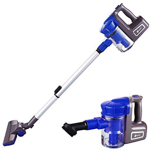 Aspirador De Mano Pequeño Hogar, Fuerte Ciclón Seco Desodorización Seco 700W Máquina De Limpieza, Azul