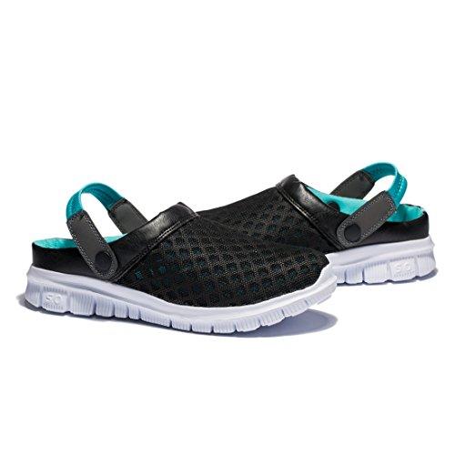 ... Kensbuy Unisexe Été Respirant Et Durable Mesh Chaussures, En Plein Air,  Plage Aqua, 48a46a98569a