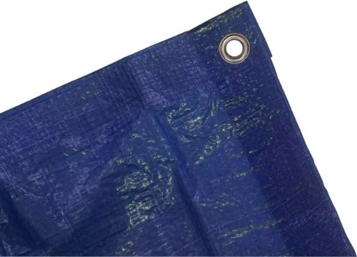Kotap 8-ft x 15-ft General Purpose Blue Poly Tarp, Item: TRA-0815