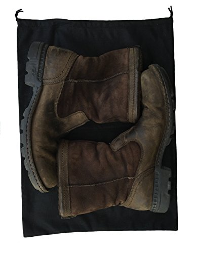 2 Woly XXL Shoe Bags (18''x 14'' in.) Fits 2 Pairs of Shoes Per Bag. Good for Travel. Made in Germany. by Woly (Image #6)