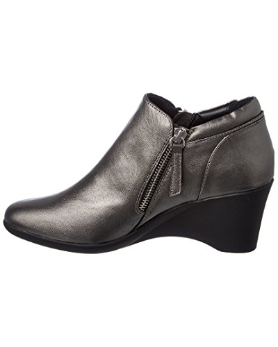 Karrie Bootie Steven By Madden Leather Pewter Steve p6gPx4