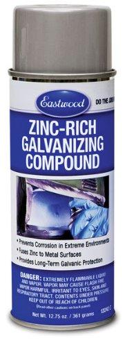 Eastwood Anti Corrosion Fast Dry Zinc Rich Galvanize Aerosol 13 ()