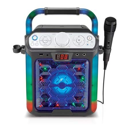 Create Fun,Lasting,Singable Moments with Cool,Colorful and Exciting Singing Machine Karaoke Cube Multi-Function Karaoke System with Dancing Lights,Makes a Great Gift by Generic (Image #4)