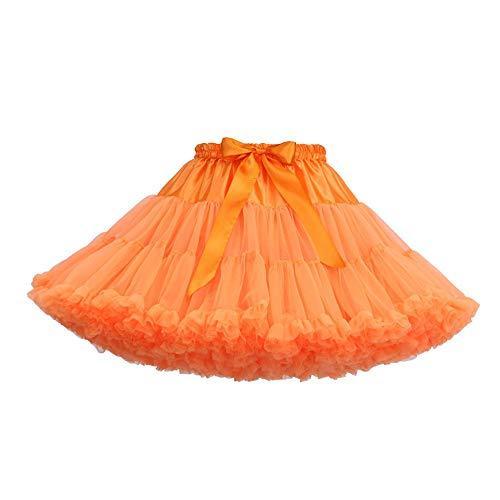 gut Damen Tutu Röcke Mode Einfarbig Tanzparty Tanz Ballett