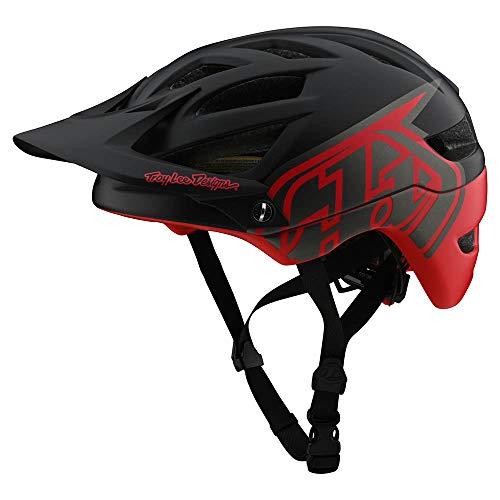Troy Lee Designs A1 MIPS Classic Helm Black/Red 2020 Fietshelm