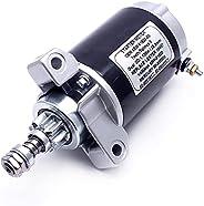 OVERSEE 65W-81800-00 Outboard Starter Motor for Yamaha Mercury Outboard Motor 20HP 25HP 4 Stroke 65W-81800-01