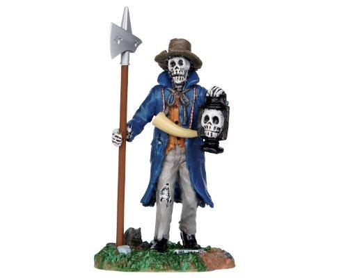 Lemax Spooky Town Halloween Creepy Night Watchman #32108]()