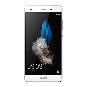 Huawei P8 Lite US Version- 5 Unlocked Android 4G LTE Smartphone - Octa Core 1.5GHz, Dual SIM, Gorilla Glass, 13MP Camera - White (U.S. Warranty)