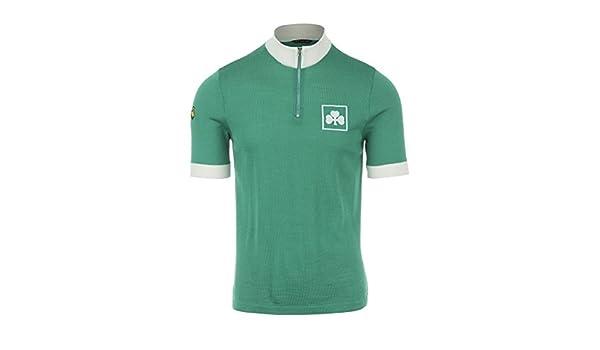 bb38a1574 Amazon.com   DE MARCHI - HERITAGE JERSEY - 1982 IRELAND Short-Sleeve Men s  Green T-Shirt (Small)   Sports   Outdoors
