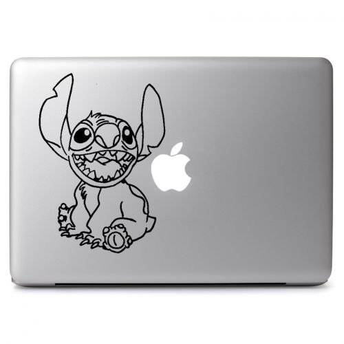 (Disney Stitch Vinyl Sticker Skin Decal, Die Cut Vinyl Decal for Windows, Cars, Trucks, Tool Boxes, laptops, MacBook - virtually Any Hard, Smooth Surface)