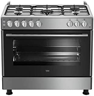 Beko Gas Range, 5 burners, 90x60 cm: Buy Online at Best Price in