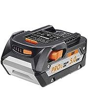 AEG L1850R batteri 5.0 Ah, 18 V, Li-Ion, kraftfullt ersättningsbatteri verktyg, utan laddare L1850R