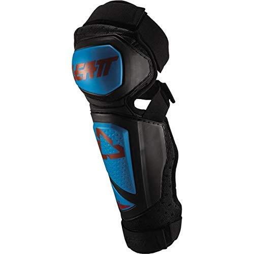 (Leatt 2019 EXT 3.0 Knee & Shin Guards (Small/Medium) (Fuel/Black))