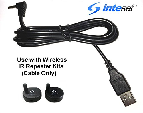 Inteset Wireless Remote Control Long Range IR Repeater, Extender & Blaster Sends Infrared using Radio Frequency (RF) by Inteset (Image #6)