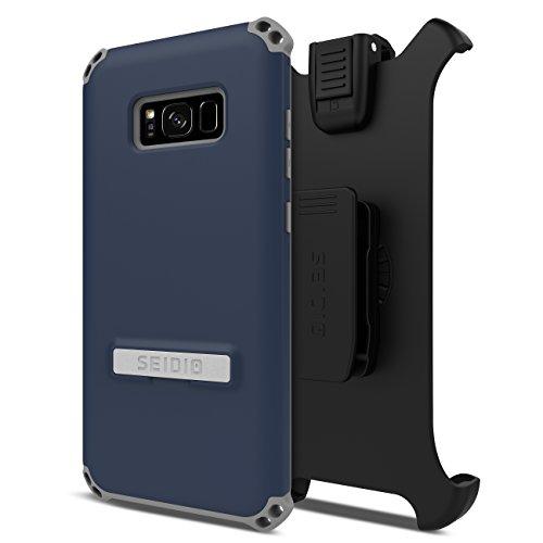 - Seidio DILEX Combo for Samsung Galaxy S8+ - Midnight Blue/Gray