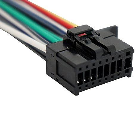 amazon com pioneer deh 3400ub aftermarket stereo radio receiver rh amazon com pioneer deh 3200ub wiring diagram pioneer deh-3400ub wiring colors