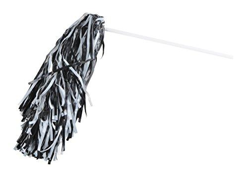 - Beistle 66300-BKW 144Piece black & White Poly Shakers, Black/White