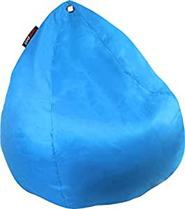 New BeanPod Chair Couch Cafe Bean Bag Cover Waterproof Indoor Outdoor Blue
