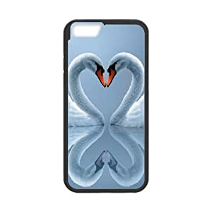 Swan iPhone 6 4.7 Inch Cell Phone Case Black udrl
